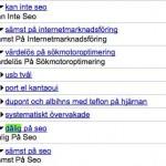 Jag är utsatt för Google-bombning