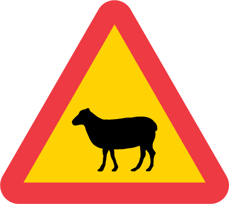 Warning for Sheep