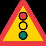 Varning för flerfärgssignal