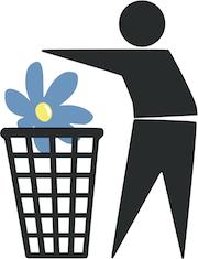 Sverigedemokraterna i papperskorgen