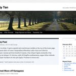 WordPress 3 är här (och jag har uppdaterat)