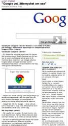 """""""Google vet jättemycket om oss"""" - DN.SE"""