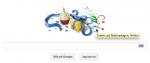 Google gratulerar på födelsedagen