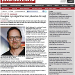 I InternetWorld om Google-algoritmen