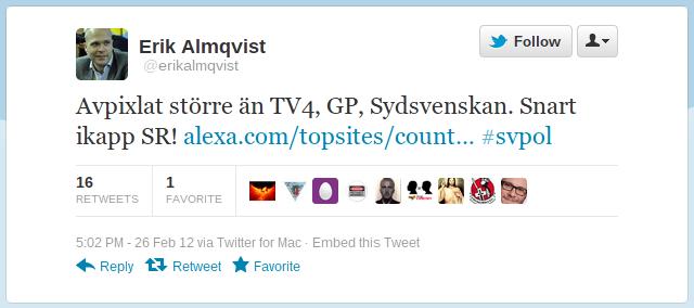 Erik Almqvist pratar strunt