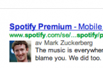 mark zuckerberg skriver åt spotify