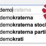 Socialdemokraterna i Google-resultaten