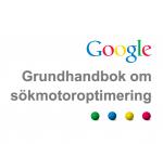 Omslag Google Grundhandbok om sökmotoroptimering
