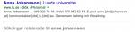 anna johansson - Sök på Google