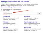 mathem - Sök på Google